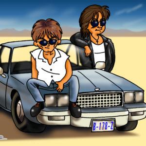 B'z in L.A. (1998.02)